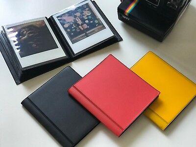 Polaroid Album for 600 / SX-70 / Impossible/ Fuji Instax Wide Film - Gold