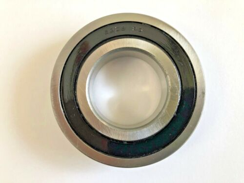 1 pc 6208 2RS C3 rubber sealed ball bearing, 40x 80x 18 mm