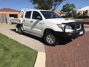 2012 Toyota Hilux KUN26R SR Dual Cab ....turbo Diesel Canning Vale Canning Area Preview
