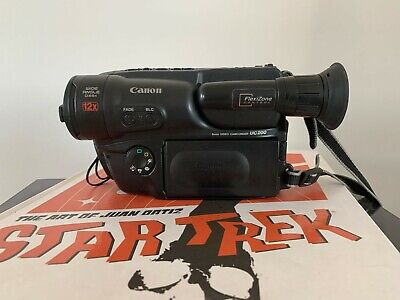CANON UC200 ANALOGUE CAMCORDER (8mm Video 8 Playback)