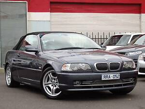 2002 BMW 330 Ci Convertible *** AUTO *** GREAT VALUE $10,750 *** Footscray Maribyrnong Area Preview