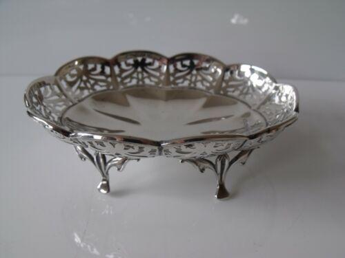 Antique Silver Bon Bon Dish, Walker & Hall, Sheffield 1912