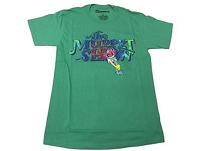 Disney The Muppet Show Animal Drummer Colorful Logo Men's T Shirt S-2XL