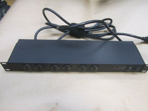 Geist SPF064-10 Rear 6-Outlet Rackmount Power Strip surge protector