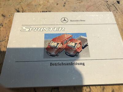 Sprinter Betriebsanleitung