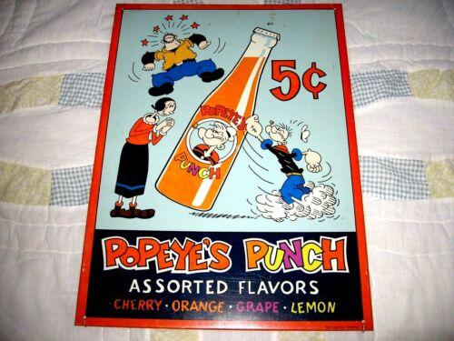 Vintage Popeye Soda Sign, Popeye