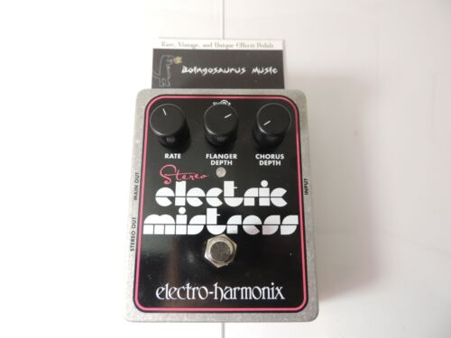 Electro Harmonix Stereo Electric Mistress Flanger Effects Pedal Free USA Ship