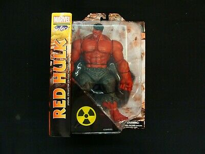 Red Hulk Action Figure Marvel Diamond Select Toys Hulk #1 for sale  Shipping to India