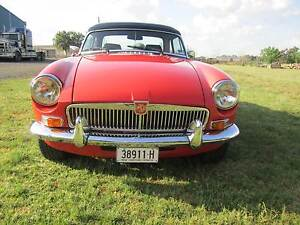 1977 M.G. MGB Convertible Brocklehurst Dubbo Area Preview