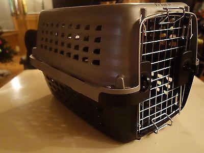 Petmate Pet Carriers - PETMATE - CARRIERS Navigator Kennel Pet Carrier Grey/Black Size 19