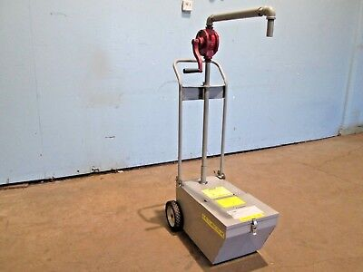 Frymaster -sdu50 Commercial 50lbs Capacity Fry Oil Cart Disposal System Wpump