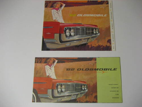 1962 Oldsmobile Sales Brochures...Lot of Two