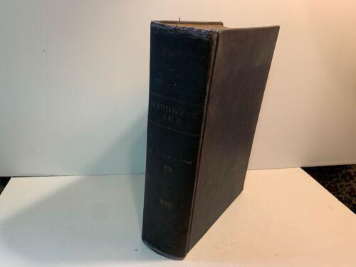 1917 Hardware Age, Bound Volume 99, Jan-June Weekly Issues, Autos, Guns, Stanley