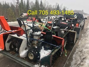 We Buy Snowblowers Running Or Not Top Dollar Paid Today