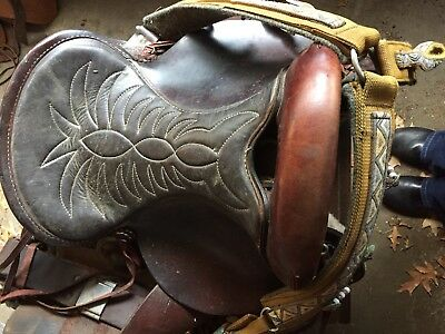 The American  Western Endurance Saddle No Horn
