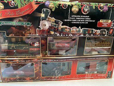 EZTEC North Pole Express Christmas Train Set G-Gauge Large Scale 37260 Music RC