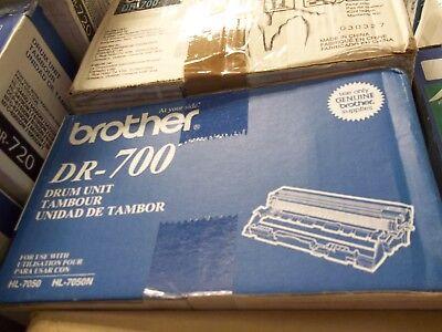 DR700-GENUINE Brother DR-700 Drum Unit For Brother Hl-7050, Hl-7050N, Black