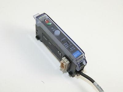 Keyence Fs-t2 Fiber Optic Sensor Used