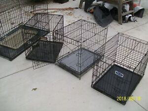 4 DOG CRATES TO CHOOSE FROM