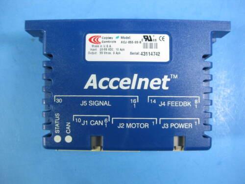 Copley Controls Accelnet -- ACJ-055-09-R -- Used