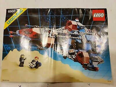 Lego Mission Commander 6986-1 Space Police 125