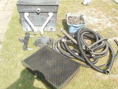 fish pond filter uv pump medis etc...