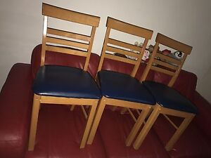 3 VERY NEW DINING CHAIRS $5 each Chatswood Willoughby Area Preview