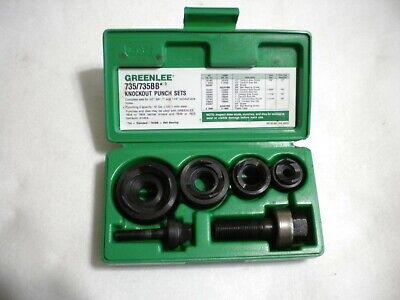 Greenlee 735735bb Slug Buster Punch Set