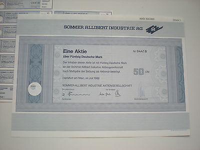 Deutschland - Sommer Allibert Industrie AG  50  DM  1988  1/240