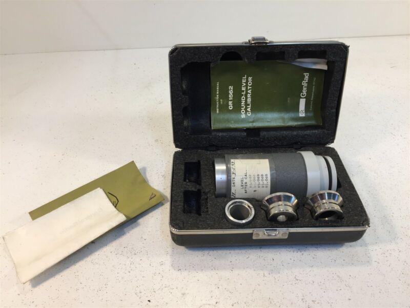 GenRad GR 1562 Sound-Level Calibrator GR1562
