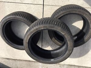 Michelin X-Ice 3 winter tires 245/40R18 like new