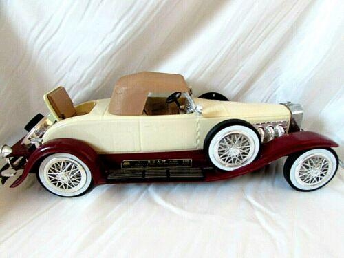 Vintage Jim Beam 1935 Duesenberg Car Decanter