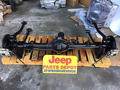 2007 2015 Jeep Wrangler Jk Rear Differential Rubicon E Locking Axle Dana 44 3 73