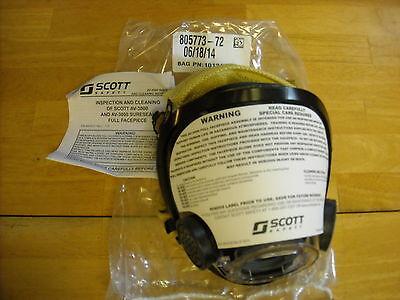 Av-3000 Scott Mask W Kevlar Netting Size Medium Scba Air Pak