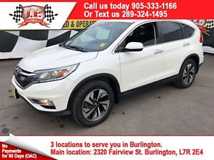 2015 Honda CR-V Touring, Automatic, Navigation, Leather, AWD