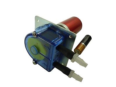 Peristaltic Brushless Food And Beverage Tube Pump 12 Volt Dc 300 Mlmin Pmb200f