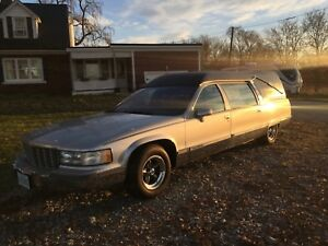 1994 Cadillac Fleetwood Hearse by Eurica