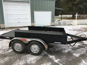 tandem trailer for utv