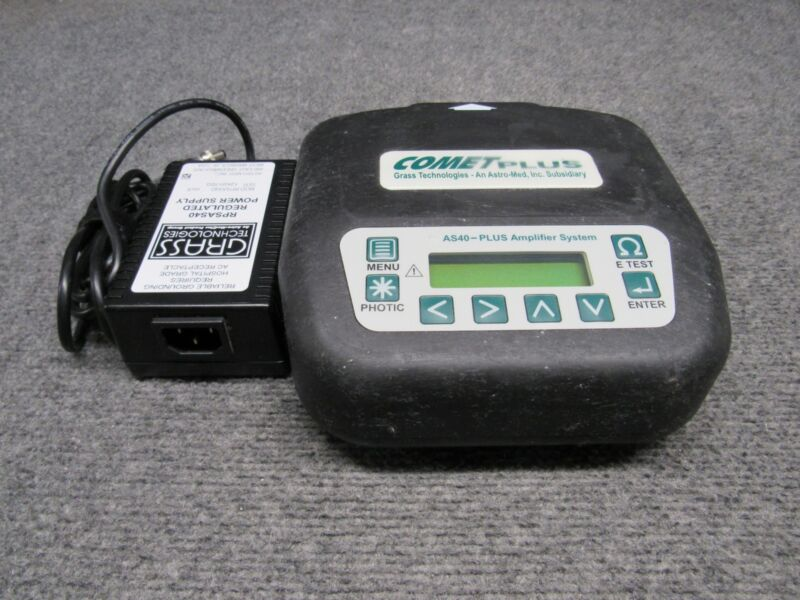 Grass Technologies COMET PLUS AS40-PLUS Amplifier System Base w/ Power Adaptor