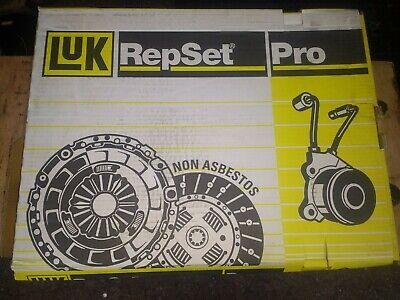 LUK REPSET PRO 624331233 Clutch Kit,3 PIECE,SUITS NISSAN, RENAULT, VAUXHALL