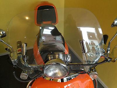 Roller Windschild Windabweiser Windschutz Retroroller Motorroller Scooter ZNEN