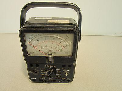 Simpson Electric Multimeter 260 Nsn 6625010391491