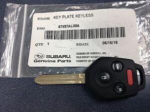 New Genuine Subaru Replacement Keyless Remote Key Fob 2015-2017 Legacy Outback