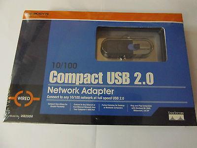 100 Compact Usb (Linksys Compact USB to LAN Network Adapter 10/100 MB USB 2.0 NEU OVP)