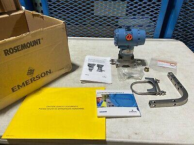Rosemount 3051cd1a22a1am5b4q4 3051 Pressure Transmitter 2000psi New