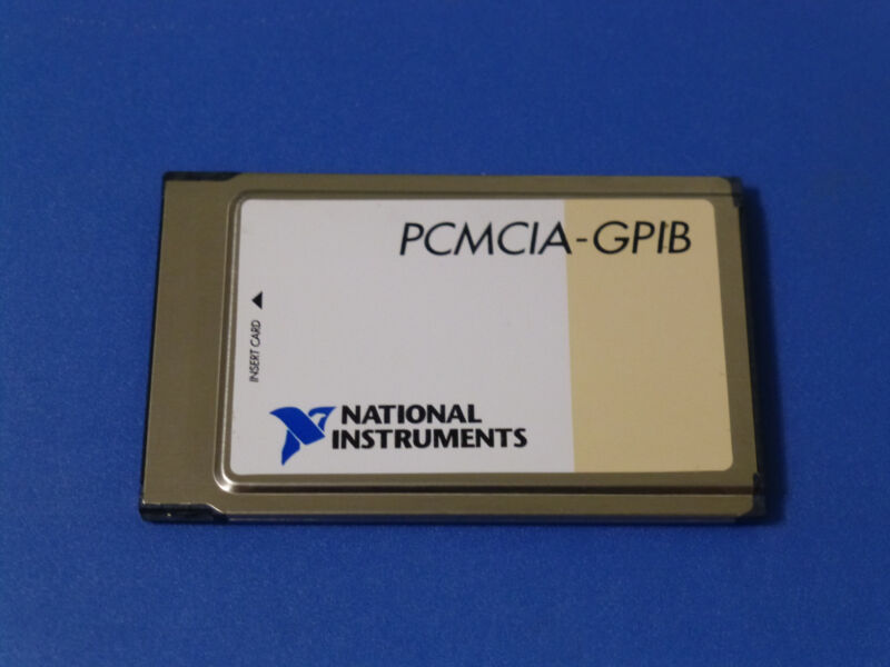 National Instruments PCMCIA-GPIB Interface Card 184713B-01