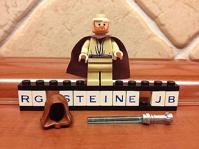 Lego® Figur Star Wars™ Obi Wan Kenobi™ blauen Lichtschwert Yoda™ Vader NEU sw234