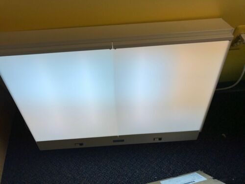X-Ray Film Illuminator Negative Viewer Dental Medical Light Box 2 Bank