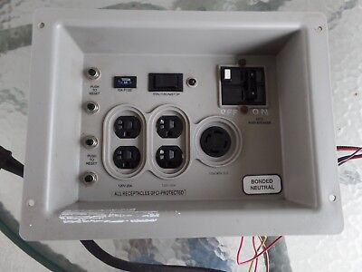 Control Panel Assy. 199925gs For Briggs Stratton Model 040248 7kw Generator
