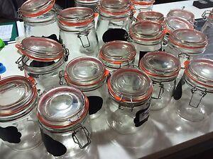 20 x glass jars various sizes Heathwood Brisbane South West Preview